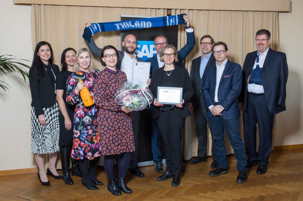 Gavdi wins at SAP Quality Awards