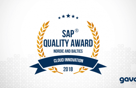 SAP Quality Award