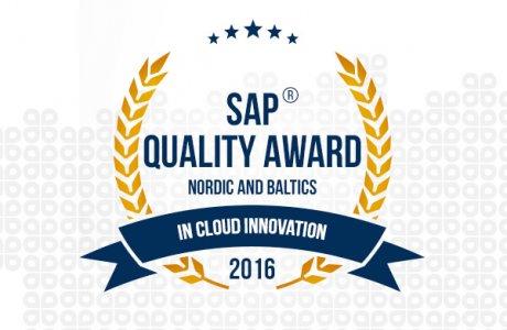 Gavdi SAP Quality Award